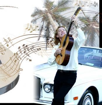 گیتار روی آتش عنوان آهنگ زیبا و شادی از الکس فاکس
