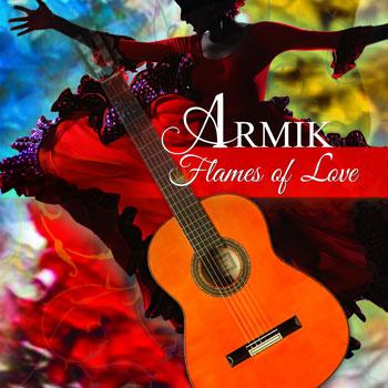 """گیتاز فلامنکوی زیبای آرمیک در آلبوم """" شعله های عشق """""""