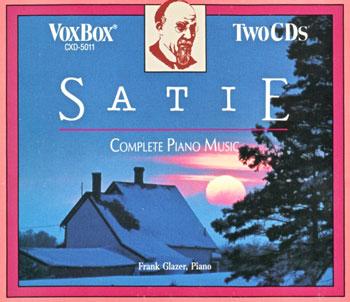 مجموعهی کامل پیانوی اریک ساتی با اجرای فرانک گلیزر