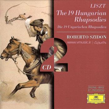 مجموعهٔ ۱۹ راپسودی مجار برای پیانو، اثر فرانتس لیست
