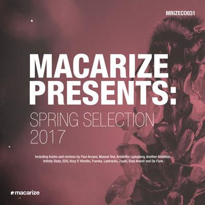 « Macarize Spring Selection 2017 » موسیقی الکترونیک پر انرژی از لیبل Macarize Records