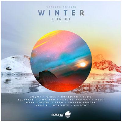 آلبوم Winter Sun 01 موسیقی الکترونیک ریتمیک و پرانرژی از لیبل Soluna Music